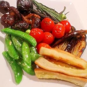 ロースト野菜のホットサラダ