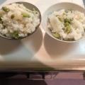 ストウブDE〜枝豆ご飯