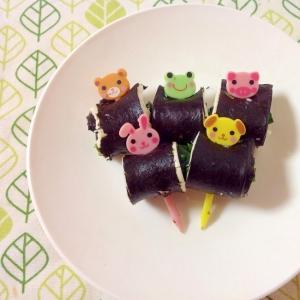 お弁当に☆おつまみに☆のりチーズ巻き(o^^o)