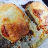 オーブンで!チーズのせポークハンバーグ