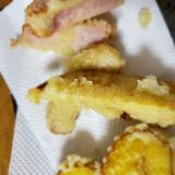 タケノコの煮物の天ぷら