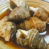つぶ貝の煮付け