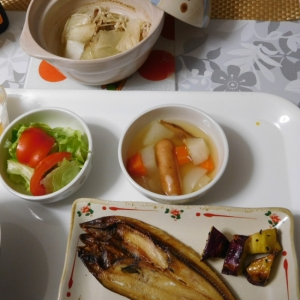 ホッケ 焼き魚