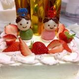 かわいい♡ひな祭りケーキ♡
