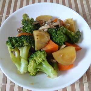 たっぷり野菜のさっぱり炒め