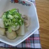 いつもと違う味! 鶏むね肉と根菜のさっぱり煮