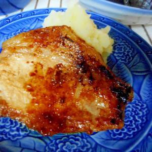 豚の味噌漬けバターマッシュポテト添え