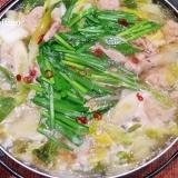 塩糀で☆ ジューシー団子の鶏塩鍋