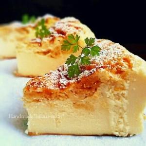 まるでチーズケーキ♡ヘルシーヨーグルトケーキ♪