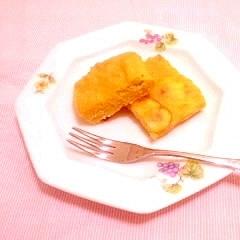 米粉とおからのほっこり栗ケーキ