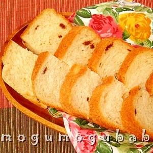 HBで作る☆白胡麻チョコ食パン