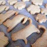 ポリ袋で簡単♪サラダ油で作る型抜きクッキー