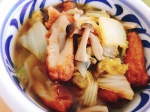 【夫婦のおつまみ】ごぼう天と白菜の煮物