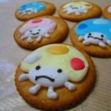 コドモダケのアイシングクッキー♪