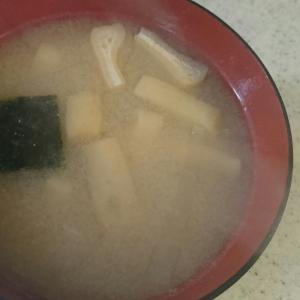 あおさ・大根・油揚げの味噌汁