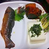 鮎の甘露煮の夏プレート