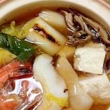 寒い日に最適◎魚介鍋
