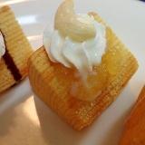 パインアップルジャムとカシューの焼きバームクーヘン