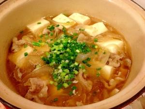栄養たっぷり!豚肉で肉豆腐