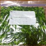 とっても便利♡大根の葉の冷凍保存♡