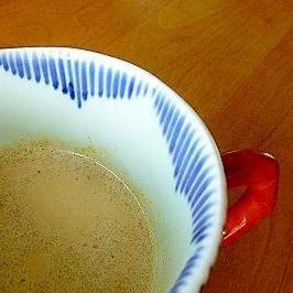 レンチンで簡単☆ジンジャーミルクティー♪