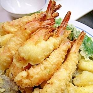 【Booのてきとーなレシピ】塩麹de海老の天ぷら