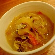 肉厚椎茸&ほくほくさつまいもの豚汁