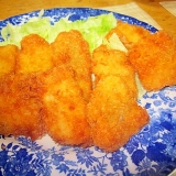 鱈の粉チーズフライ