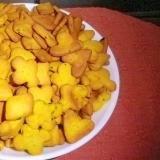 【幼児食】ホットケーキミックスでかぼちゃクッキー