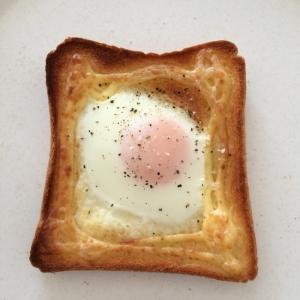 簡単!卵マヨトースト