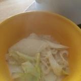白い一人鍋( *´艸`)