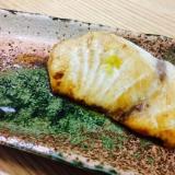 【ガサツ料理】柚子の香り最高♡めかじきの幽庵焼
