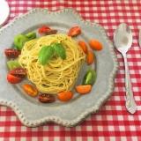 カラフルトマトのジェノベーゼ
