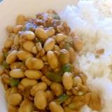大豆のドライカレー