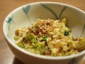 ●5分でもう1品●和風白菜サラダ