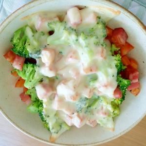 栄養満点!ブロッコリー&トマトのオーブン焼き