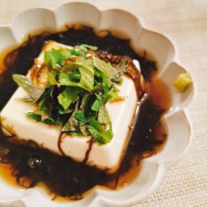 もずく豆腐
