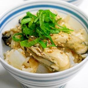 ふっくら牡蠣の香り漂う!牡蠣の炊き込みご飯