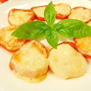 こんなに簡単でいいの!? トマトのチーズ焼き