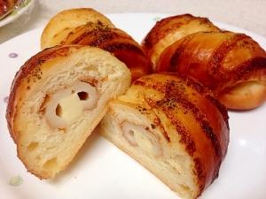 簡単!美味しい!ちくわパン