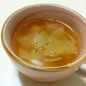 柔らか玉ねぎのスパイススープ