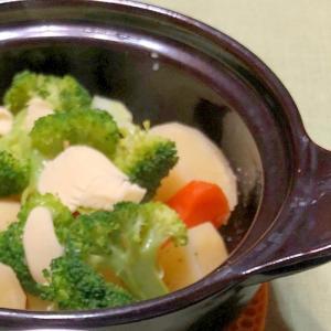 土鍋でほっこり温野菜