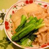 薄揚げ・切干・小松菜のあっさり煮物