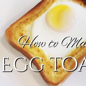 簡単 エッグ マヨ トースト (卵&マヨネーズ)