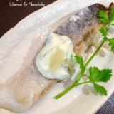 辛子ハーブマヨで食べる『鮭のムニエル』
