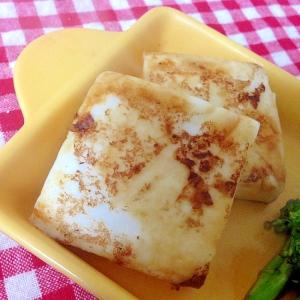 はんぺんの麺つゆソテー☆
