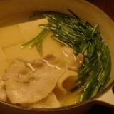 ルクルーゼ湯豆腐