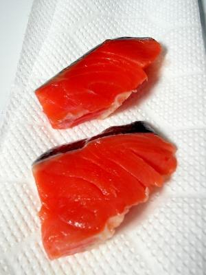 鮭の旨味引き立つ☆鮭の切り身の臭みの取り方