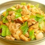 中華 鶏肉とカシュナッツ塩炒め