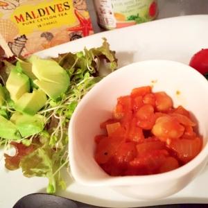 パンにもご飯にも♪ひよこ豆のトマト煮